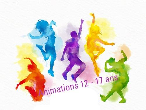 Animations 12- 17 ans - Vacances de la Toussaint