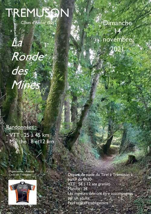 Ronde Des Mines : VTT et rando pédestre